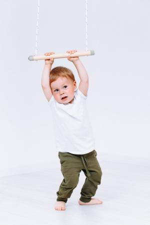 Spatiu de joaca, bara tip leagan trapez Romana [2]