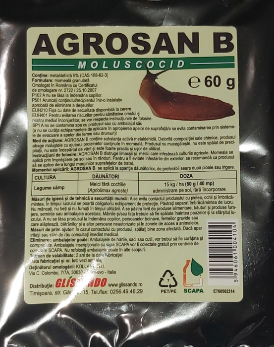 Agrosan-muloscocid (60g) [0]