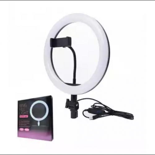 Lampa circulara cu suport selfie, 60W [8]
