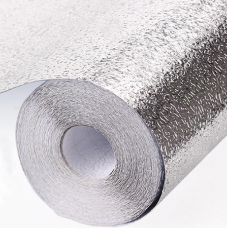Folie de aluminiu autoadeziva bucatarie 60 x 300 cm [6]