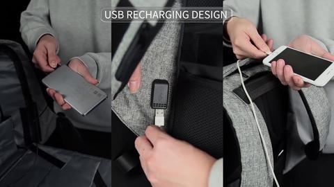 Cum incarc telefonul la rucsacul USB
