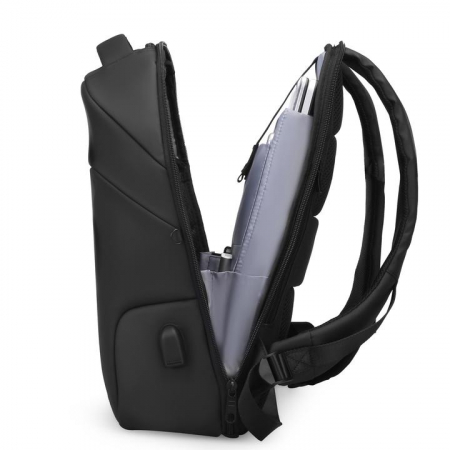 "Rucsac Laptop Antifurt 15.6"" Smart USB MODERNO [1]"