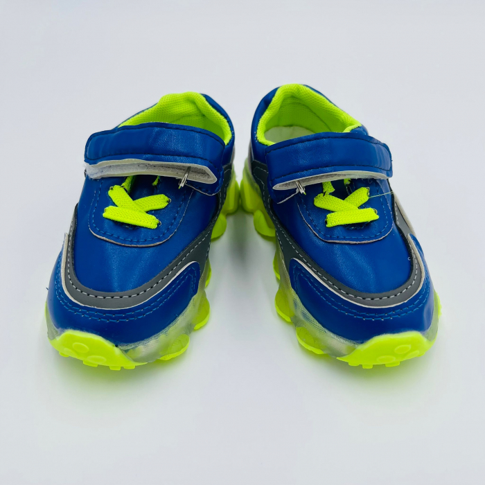 Incaltaminte copii cu leduri K211 BLUE/GREEN [1]
